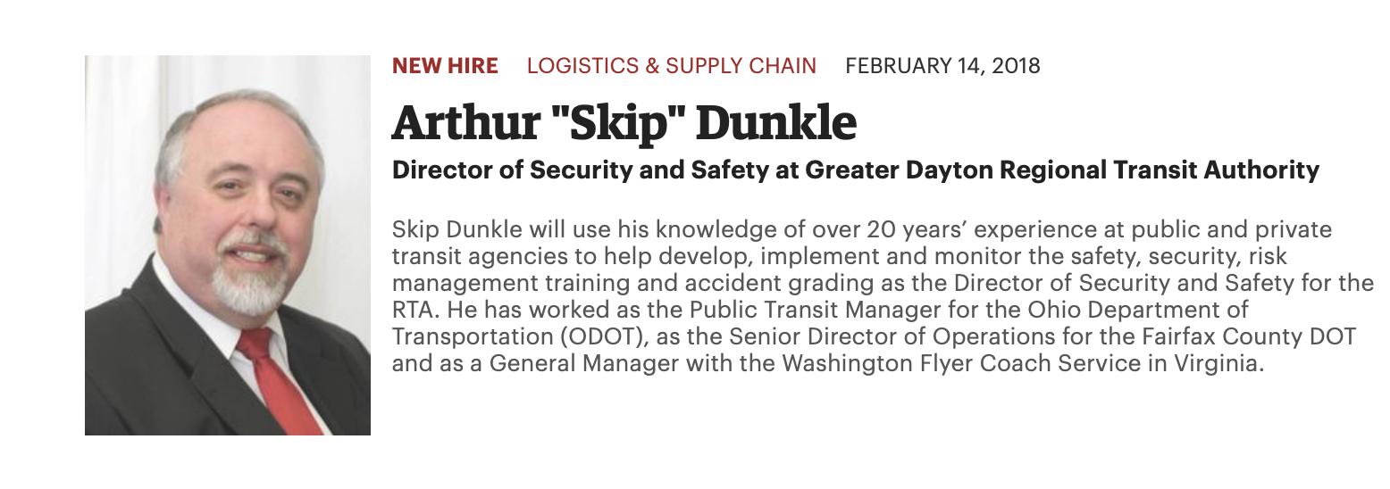"Arthur ""Skip"" Dunkle"