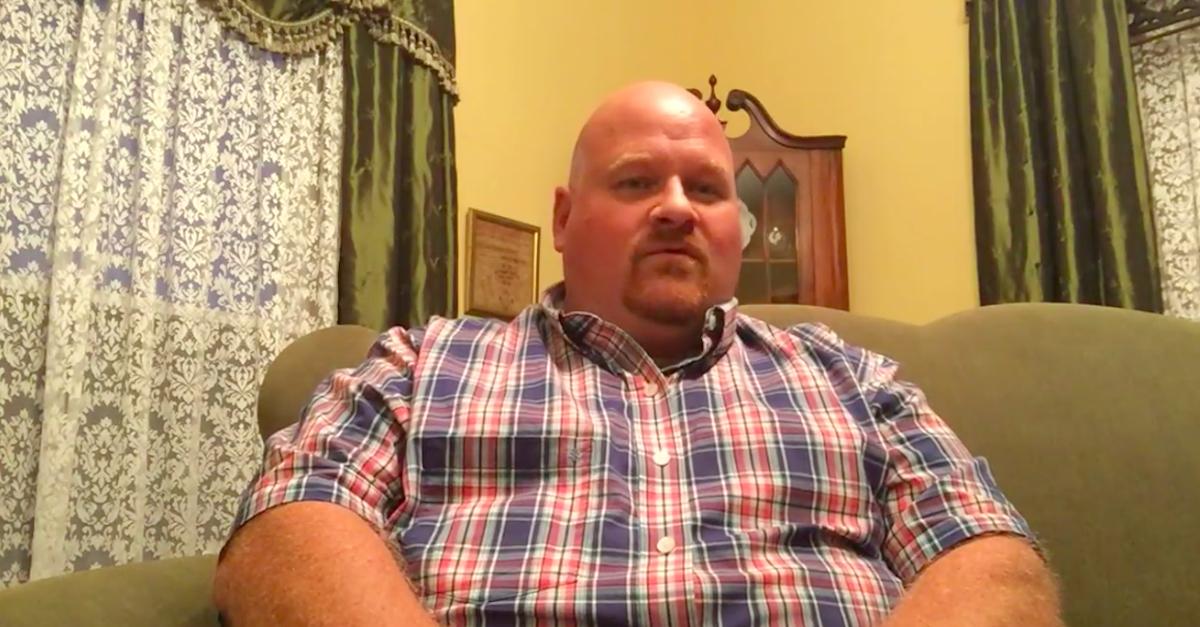Alderson, West Virginia Mayor Travis Copenhaver