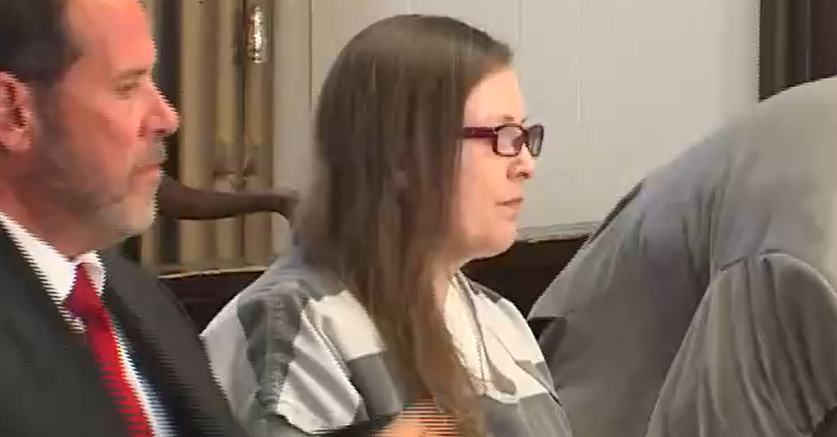 Angela Wagner in court