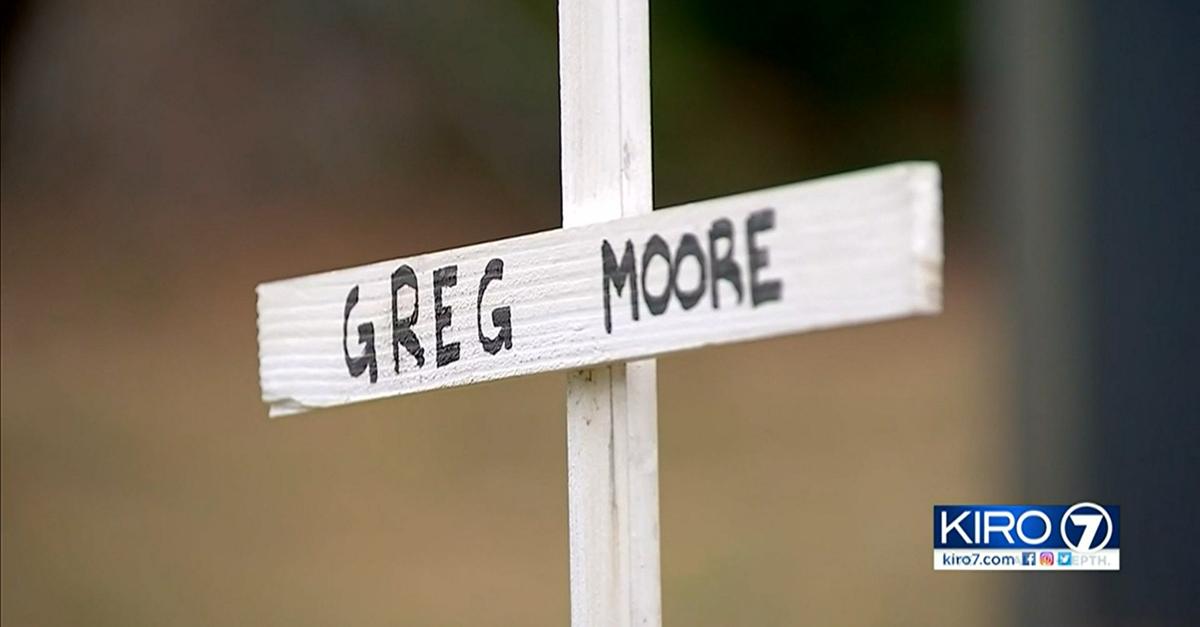 Memorial for Greg Moore.