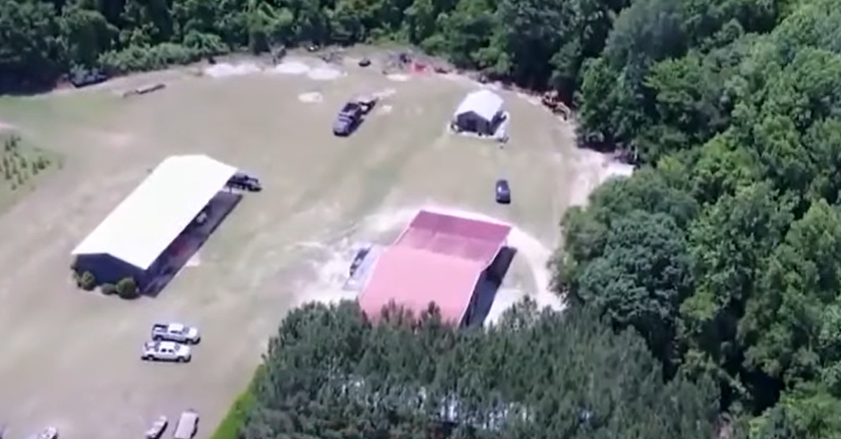 Murdaugh family property in Colleton County, South Carolina