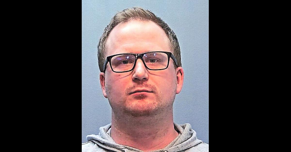 Nathan Woodyard appears in a Glendala, Colorado police department mugshot.