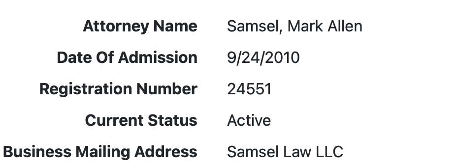 Mark Samsel