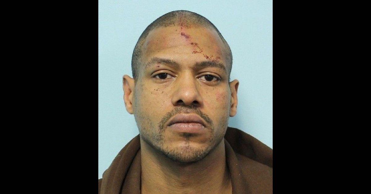 Stewart Weldon appears in a jail mugshot.