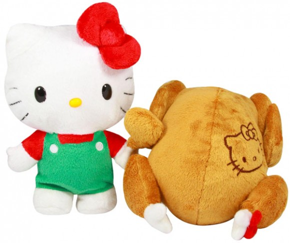 Thanksgiving Gift Hello Kitty Turns Into A Cooked Turkey The Mary Sue