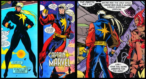 Captain Marvel Costume History The Mary Sue Endgame is a nod to comics history. captain marvel costume history the