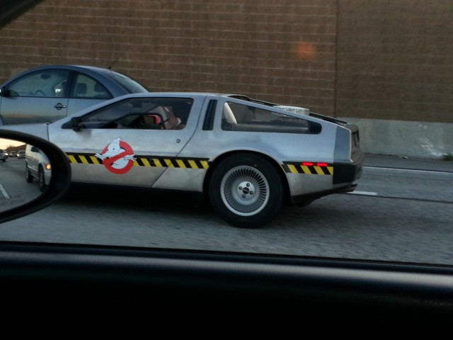 Ghostbusters DeLorean