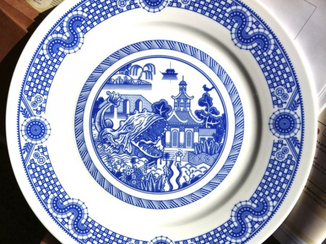 Calamityware Plates For When You Want Monsters With Dinner The Mary Sue