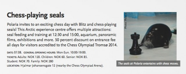 Chess-Playing Seals