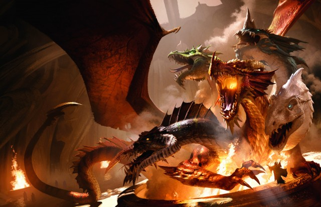Tyranny of Dragons - Campaign Art