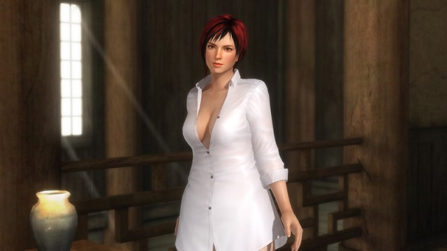 """Mila's """"Bed and Bath Time DLC"""" costume, #29."""