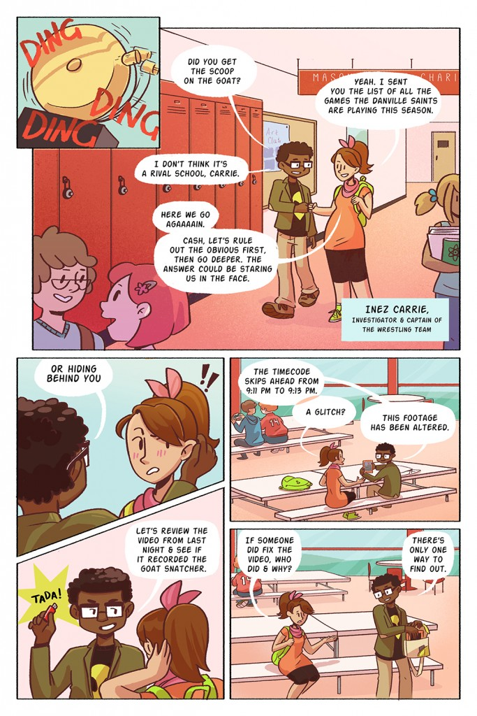 CASH & CARRIE PROMO PAGE 2 by Penny Candy Studios