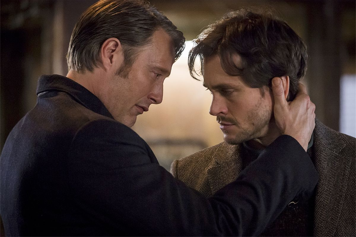 Mads Mikkelsen and Hugh Dancy Wanted To Go For the Hannibal/Will Kiss