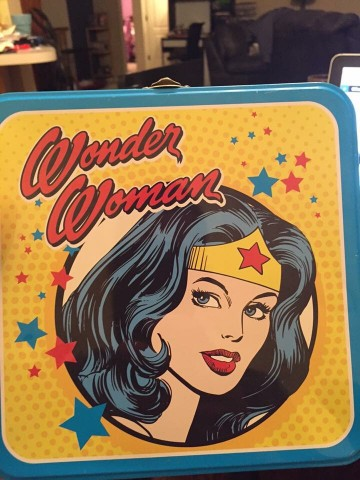 Wonder Woman lunchbox