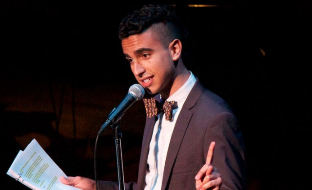 Dylan Marron in Welcome to Night Vale live.