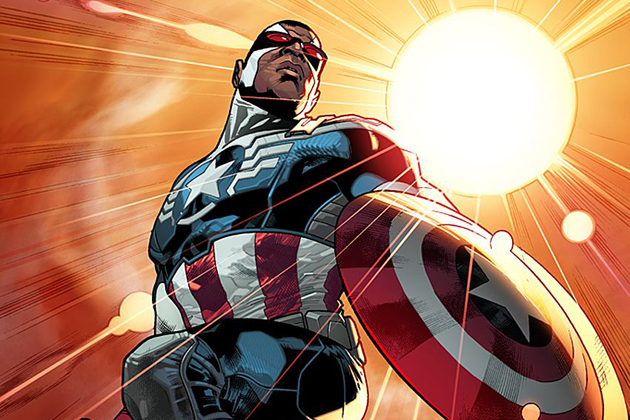 Sam Wilson as Captain America