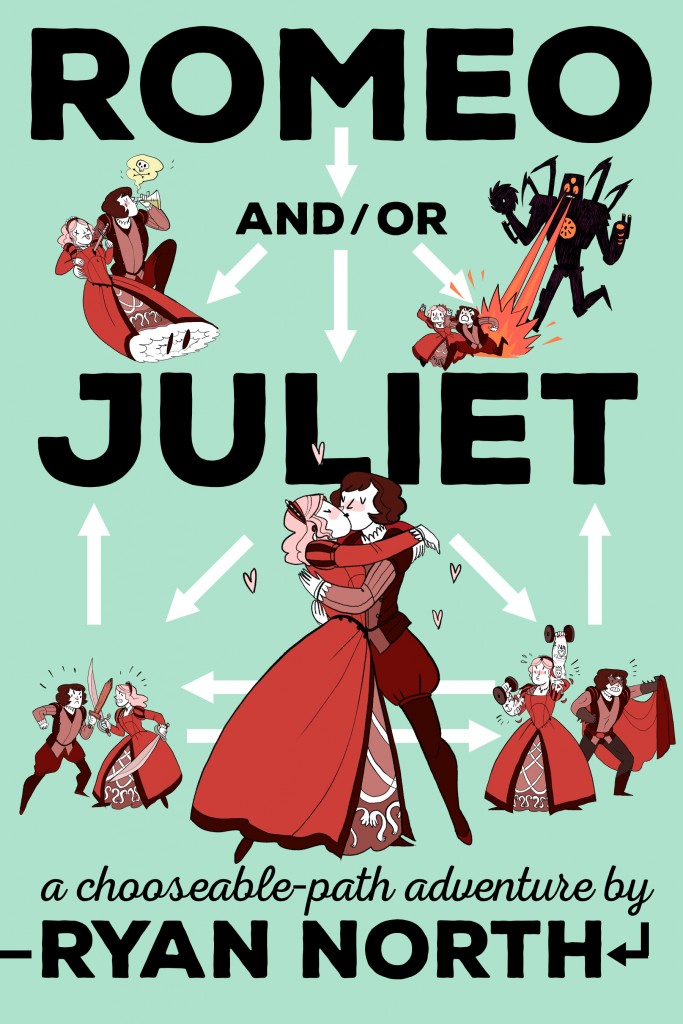 Romeo and or Juliet Final Jacket Art