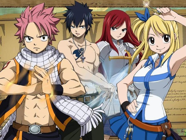 fairy tail main cast