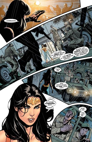 WW Earth One preview page