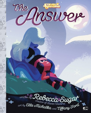 The Answer children's book cover 1