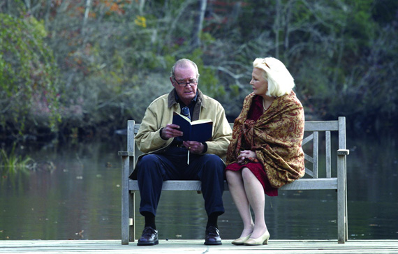 The notebook reading.