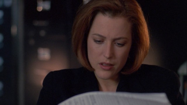 The intrepid doctor Scully