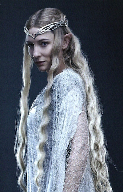 [Galadriel in The Fellowship of the Ring]