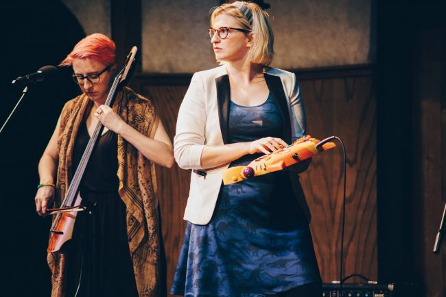 The Doubleclicks (photo by Blake Griffin)