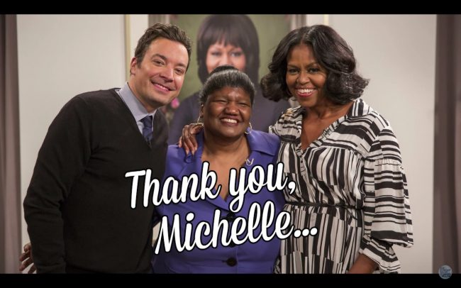 thank you michelle obama