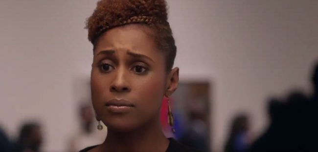 Issa Rae in a scene from HBO's Insecure