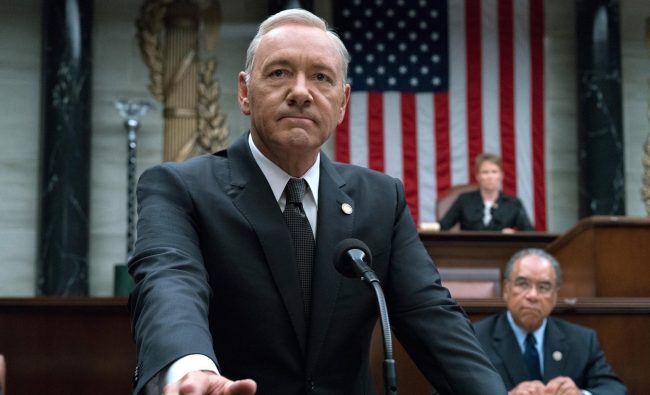 kevin spacey house of cards cancelled (Netflix)