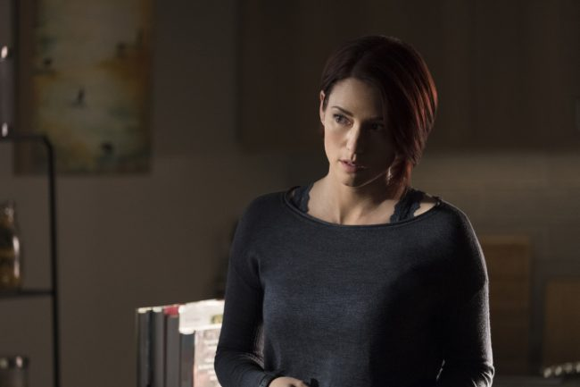 """image: Jeff Weddell/The CW Supergirl -- """"Damage"""" - Pictured: Chyler Leigh as Alex Danvers -- © 2017 The CW Network, LLC. All Rights Reserved"""