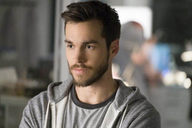 "image: Michael Courtney/The CW Supergirl -- ""Wake Up"" Pictured: Chris Wood as Mike/Mon-El -- © 2017 The CW Network, LLC. All Rights Reserved"