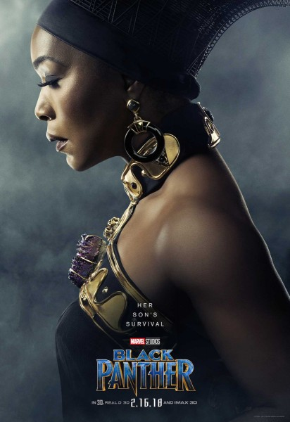 Angela Bassett as Ramonda: