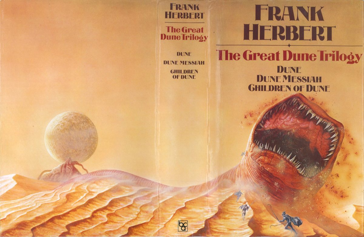 the great dune trilogy cover