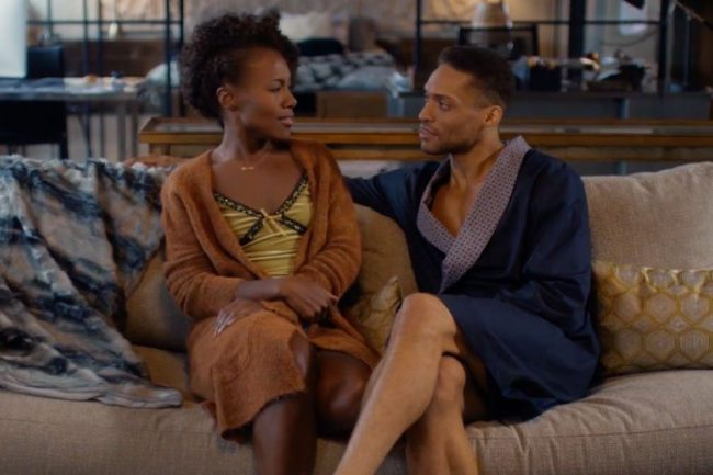 "image: Netflix DeWanda Wise as Nola Darling and Cleo Anthony as Greer Childs in Netflix's ""She's Gotta Have It"""