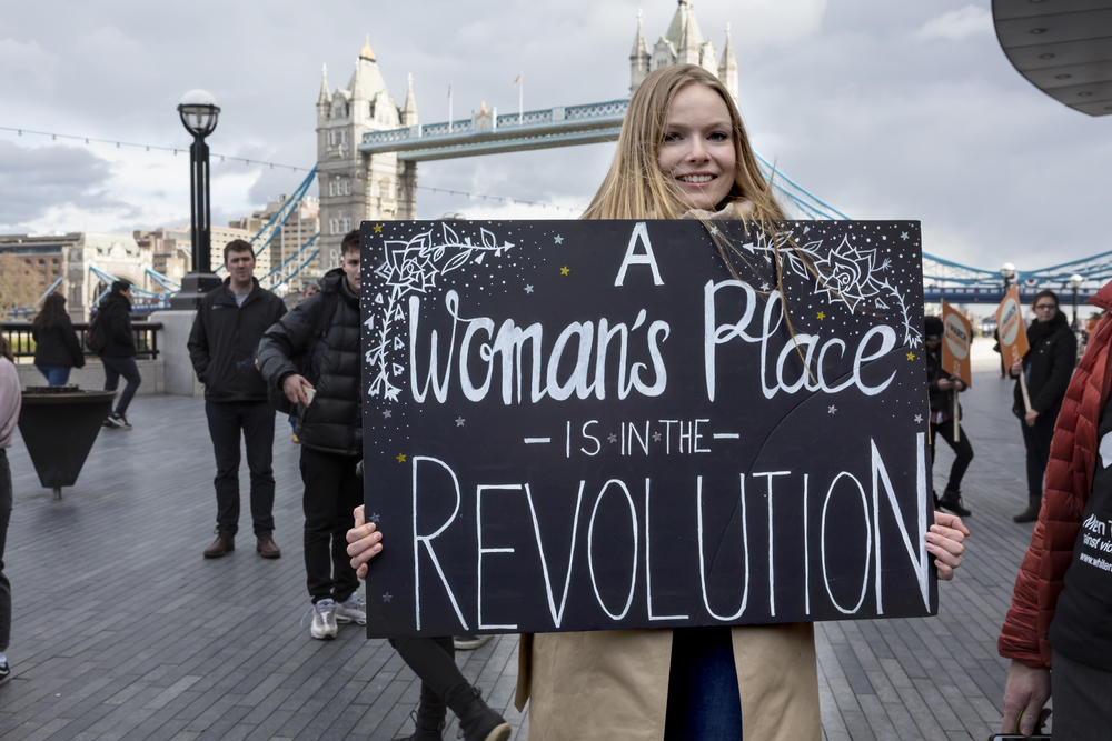 woman's place is in the revolution