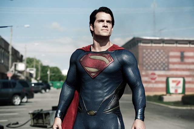 Screenshot of Superman (Henry Cavill) in 'Man of Steel' Movie (2013)