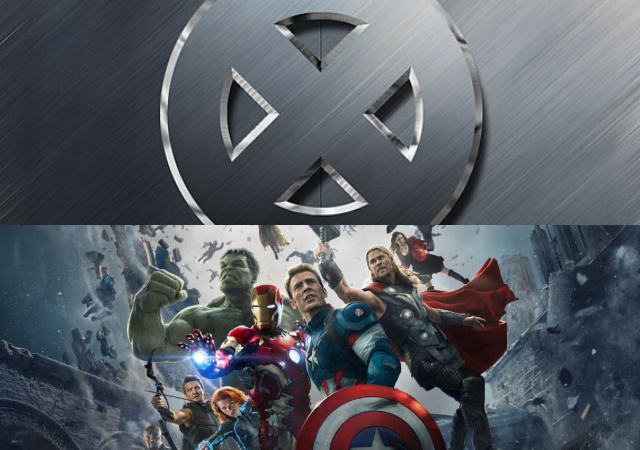 X-Men Movie Logo and Age of Ultron Picture