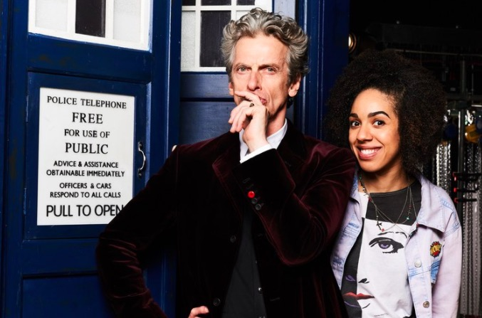 Peter Capaldi and Pearl Mackie on Doctor Who