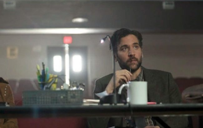 "image: NBC Josh Radnor as Lou Mazzuchelli on NBC's ""Rise"""
