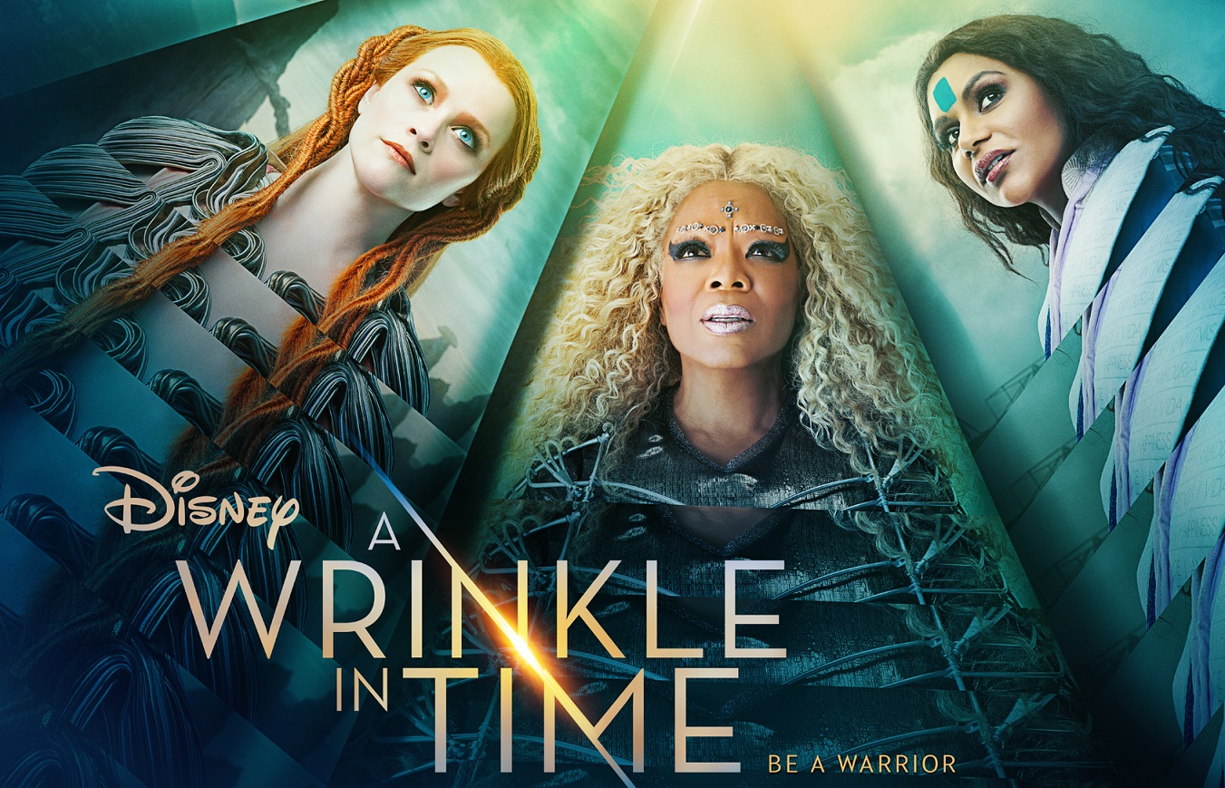 "Walt Disney Studios' poster for ""A Wrinkle in Time"""