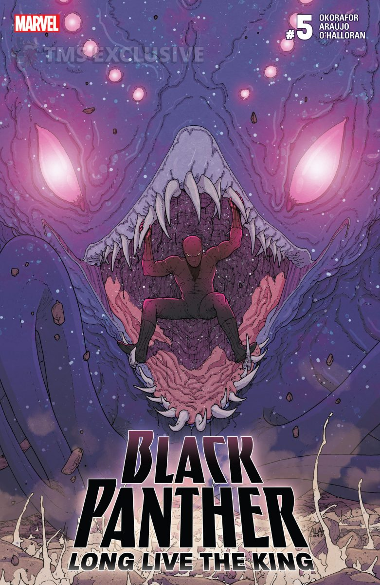image: Marvel Comics/Comixology Black Panther Long Live the King #5 - Preview Cover Nnedi Okorafor Andre Araujo Marvel