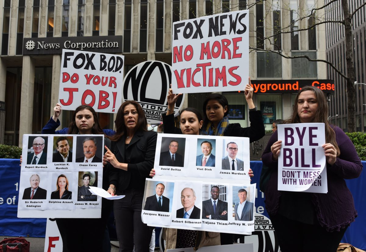 fox news bill o'reilly sexual harassment fired payout severance bill