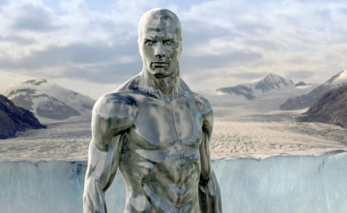 Doug Jones as The Silver Surfer in Rise of the Silver Surfer