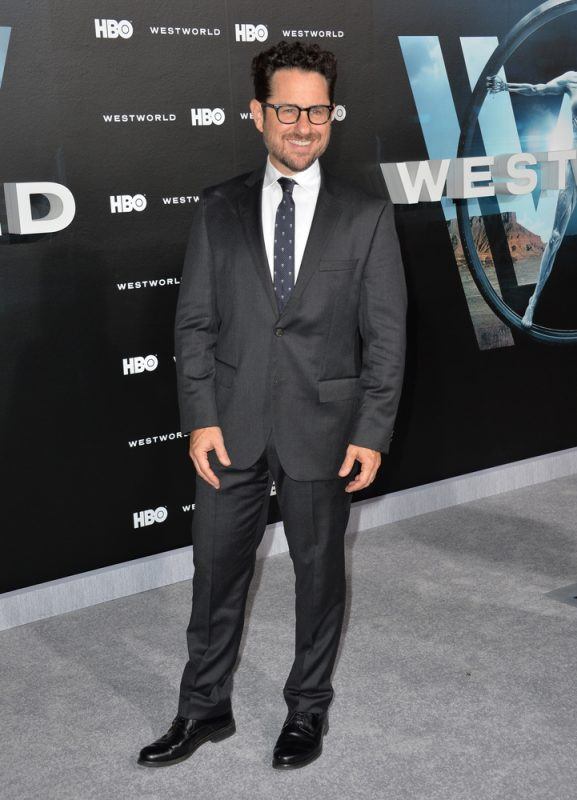 """image: Featureflash Photo Agency/Shutterstock LOS ANGELES, CA. September 28, 2016: J.J. Abrams at the Los Angeles premiere of the new HBO drama series """"Westworld"""" at the TCL Chinese Theatre, Hollywood."""