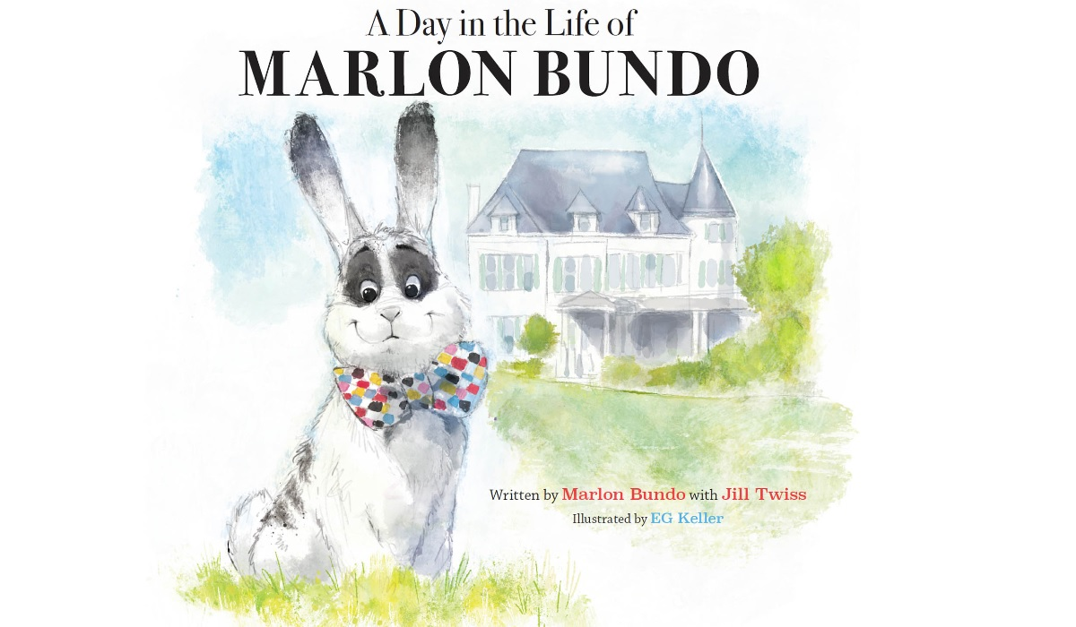 "Cover for ""A Day in the Life of Marlon Bundo"" (Credit: Chronicle Books)"