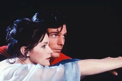 Superman and Lois Lane in Superman the Movie (1978)