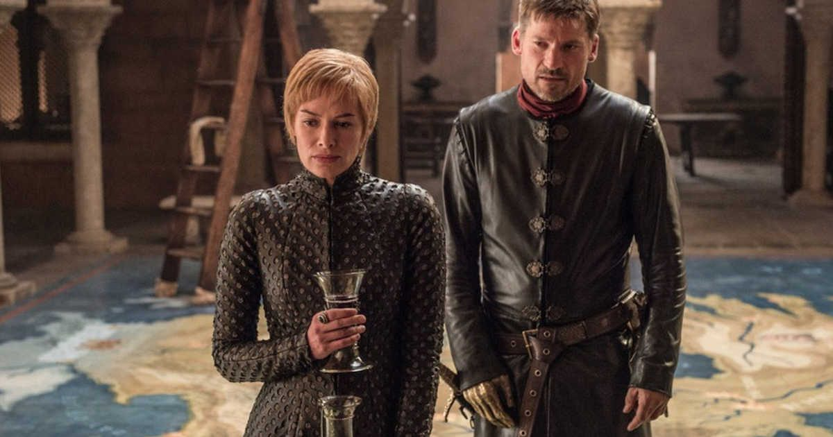 Cersei and Jamie in HBO's Game of Thrones