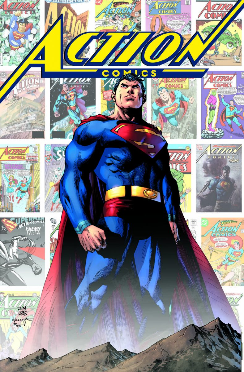 """Cover of """"Action Comics: 80 Years of Superman"""" deluxe edition"""
